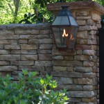 Old World Copper Gas Lantern