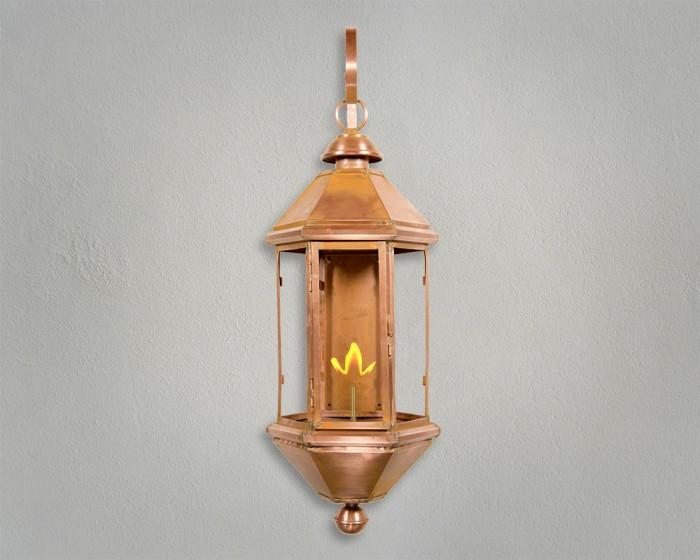 Bavarian Copper Gas Lantern